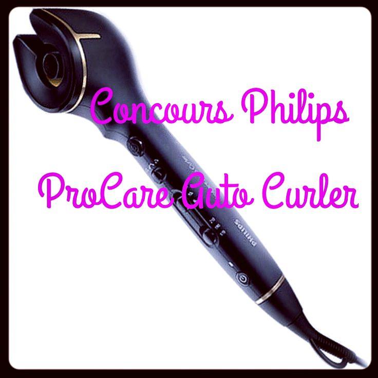 Gagnez le ProCare Auto Curler de Philips [Concours de Noël]