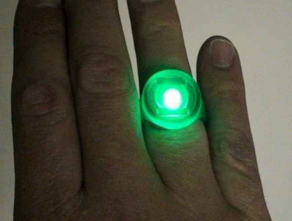 Green Lantern Glowing Ring