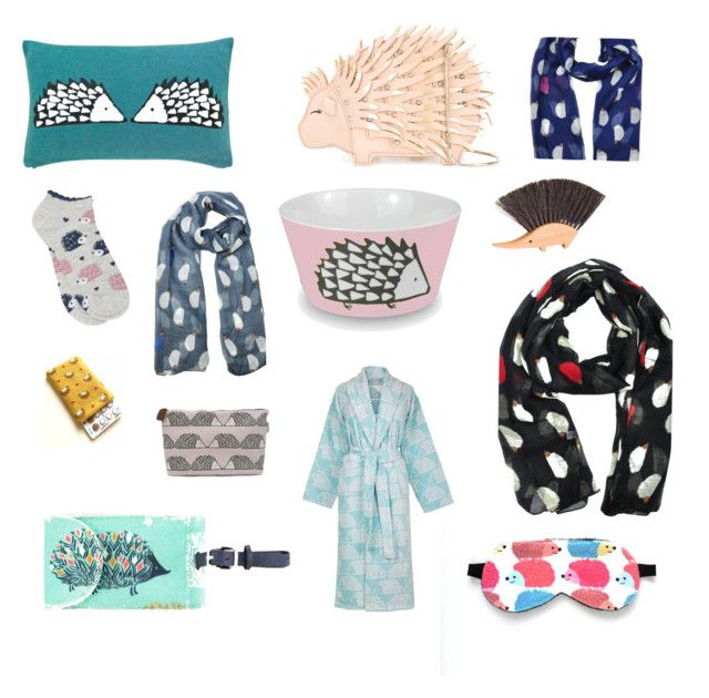 """""""Obsessed with ... Hedgehogs!"""" by beavercity on Polyvore featuring Kate Spade, M&Co, Scion, Capri Designs and Goldkid London"""