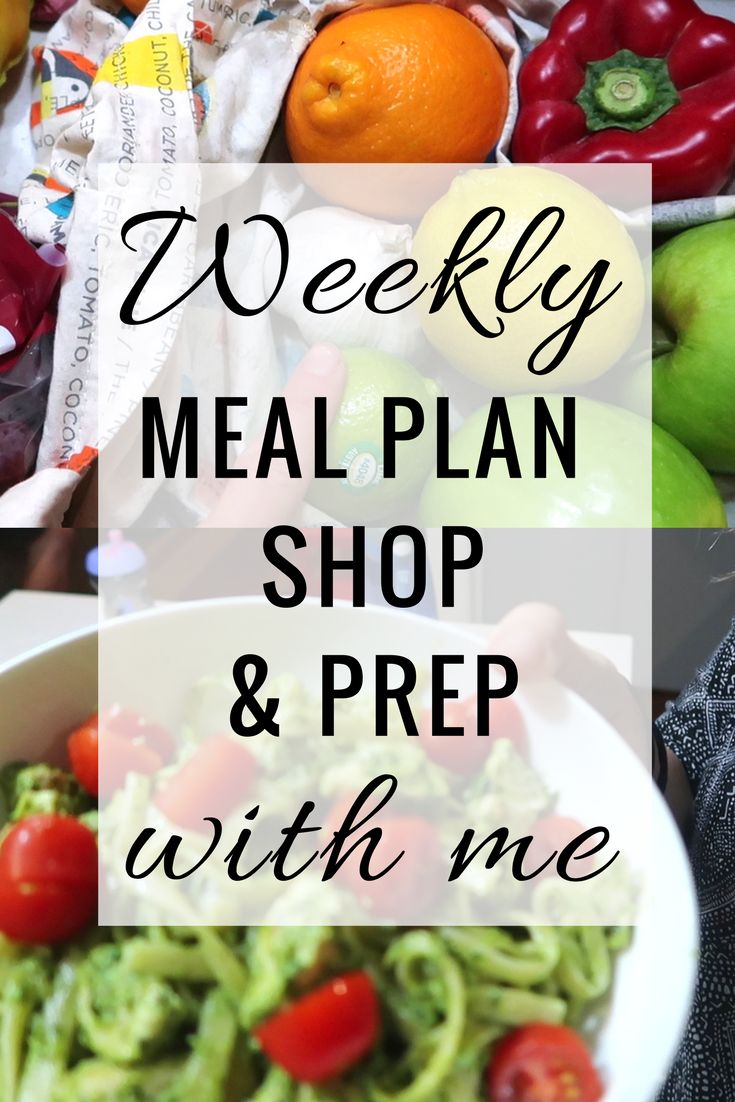 Family Meal Planning, Shopping and What We Ate For Dinner
