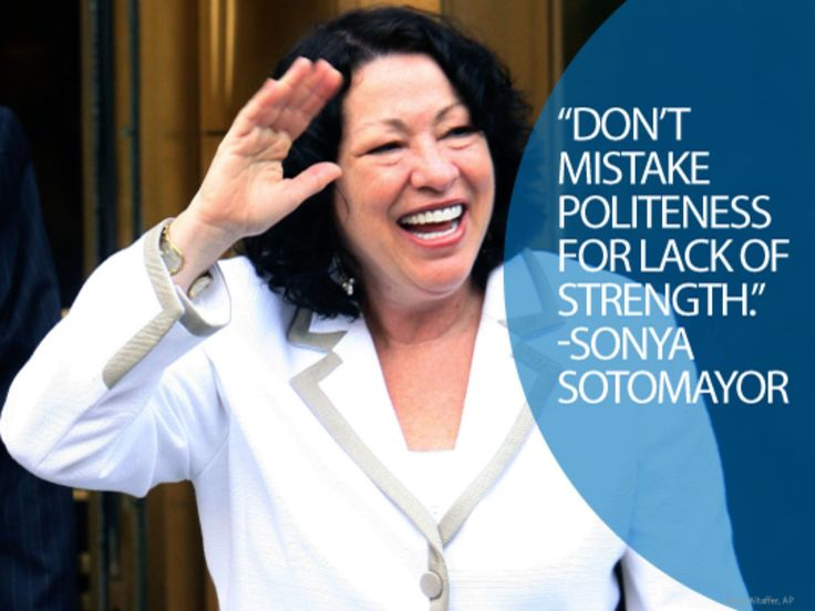 In 2009, Sonia Sotomayor became the first Latina to serve on the Supreme Court in American history.