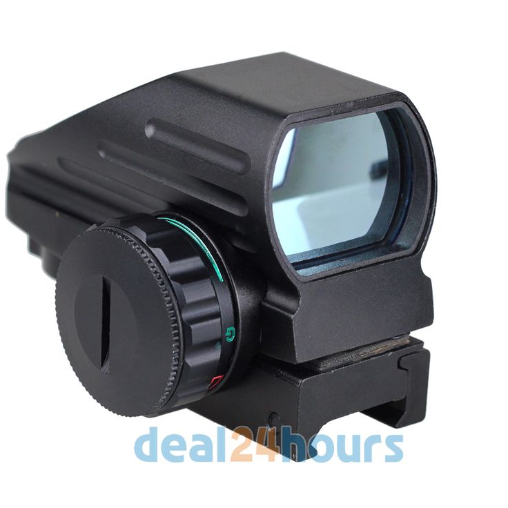 Red- Green Laser Point Dot Sight Tactical Reflex Air Rifle Pistol Airgun Hunting Free Shipping!