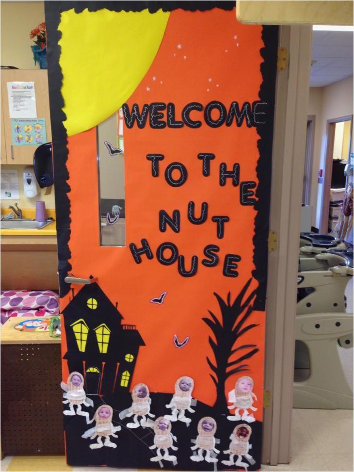Halloween Decorations Idea For Spirit Halloween At Party Ci Halloween Classroom Door Decor Halloween Door Decorations Classroom Halloween Classroom Decorations