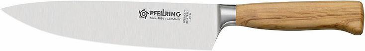 PFEILRING Kochmesser, rostfrei, Made in Germany, 20 cm, »OLIVE-LINE« Jetzt bestellen unter: https://moebel.ladendirekt.de/kueche-und-esszimmer/besteck-und-geschirr/besteck/?uid=96605a40-8254-5285-a90f-064132139e57&utm_source=pinterest&utm_medium=pin&utm_campaign=boards #geschirr #messer #kueche #esszimmer #besteck Bild Quelle: baur.de