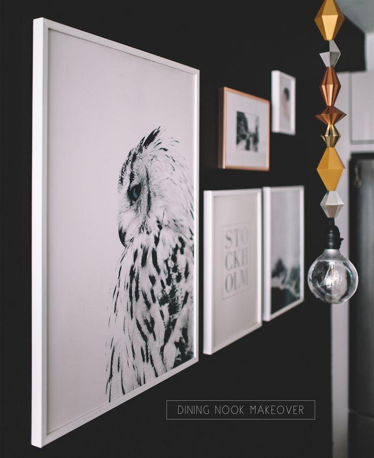 Affordable art prints makeover
