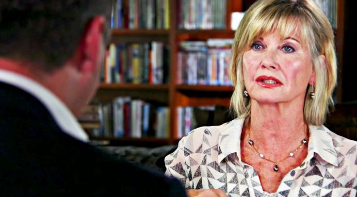 Country Music Lyrics - Quotes - Songs Olivia newton-john - Olivia Newton-John Explains 'Agonizing' Pain Of Cancer Battle In New Interview - Youtube Music Videos https://countryrebel.com/blogs/videos/olivia-newton-john-explains-painful-2nd-cancer-battle-in-new-interview