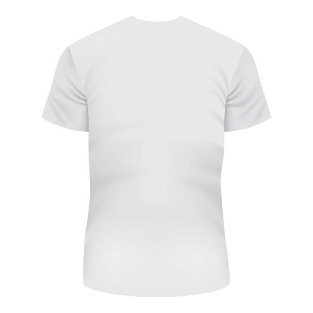 Download Back Of White Tshirt Mockup Realistic Style Clothes Clipart Shirt Back Icons Png And Vector With Transparent Background For Free Download White Tshirt Plain White T Shirt Style