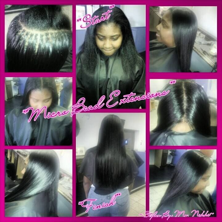 7 Best Micro Beads Extensions By Mz Nikki Images On Pinterest