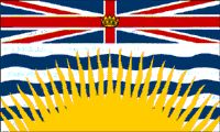British Columbia (BC) - Flag: Royal Warrant of King Edward VII, March 31, 1906 assigning Arms and Banner Flag adopted by Order of the Lieutenant Governor in Council on June 27, 1960