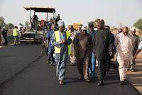 Hot News Naija: ABUJA AIRPORT CLOSURE: FASHOLA INSPECTS WORK ON KA...