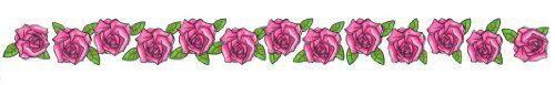 "Pink Roses Lower Back or Armband Temporary Body Art Tattoos 1"" x 6"" TMI http://www.amazon.com/dp/B008PIY76M/ref=cm_sw_r_pi_dp_.1abwb1HV9Q21"