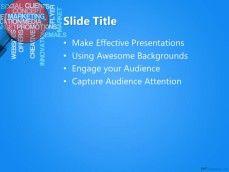 마케팅 소셜 미디어 PPT 템플릿 배경