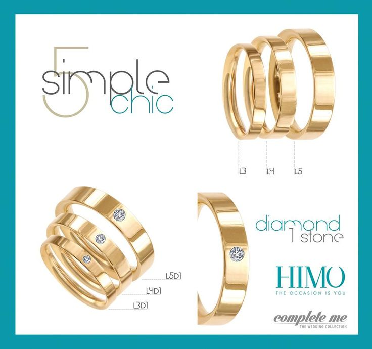 Himo jewelry wedding rings