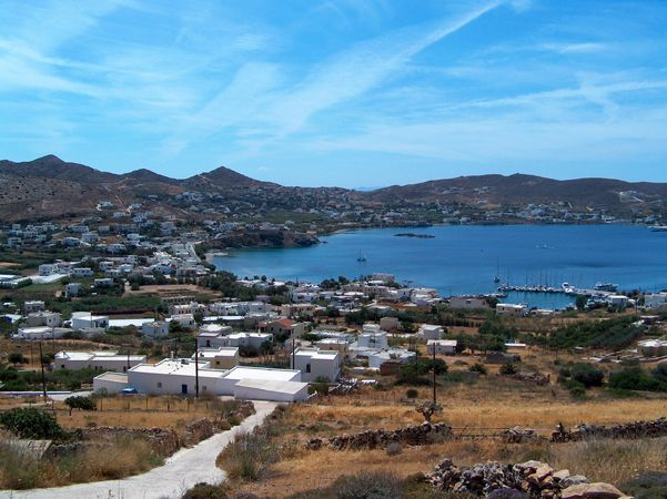 Finikas is a seaside village in the southwest part of the island