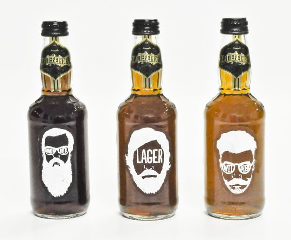 Bittereinder® (Craft Beer Packaging Design) by Stephan Pretorius, via Behance