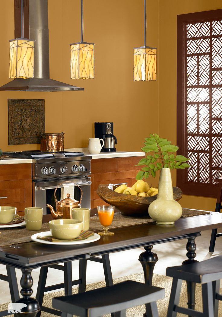 Looking For A Weekend Project To Prepare Your Kitchen For Holiday Guests Add Visual Interest Behr Paintcolorful