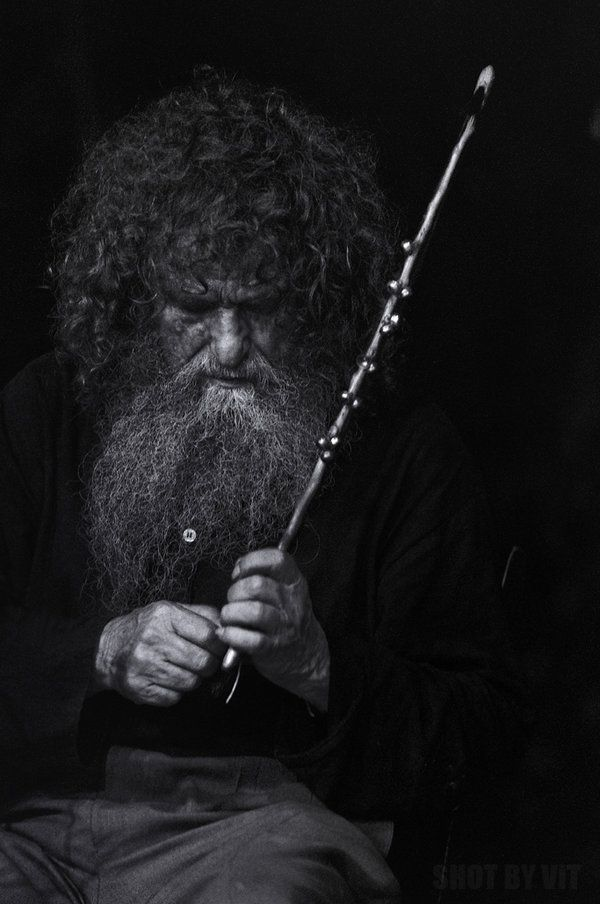 Psarantonis, Cretan Musician by *Piddling