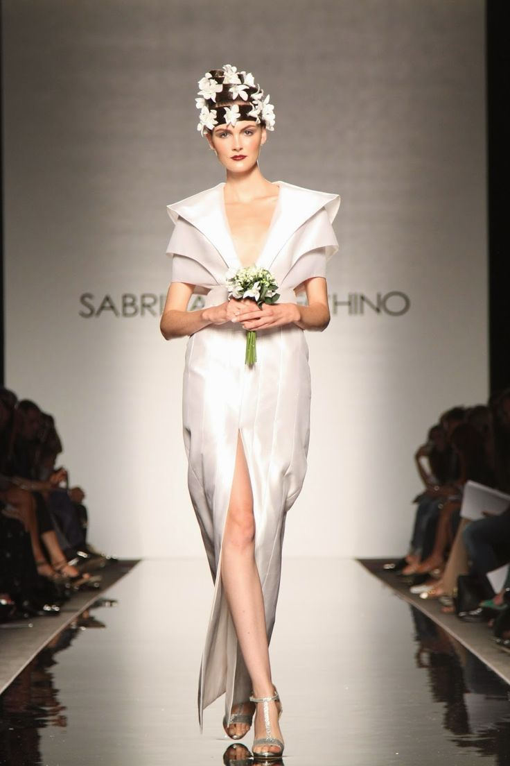 Fashionista Smile: AltaRoma: Sabrina Persechino Matrice Collection FW 2014-2015