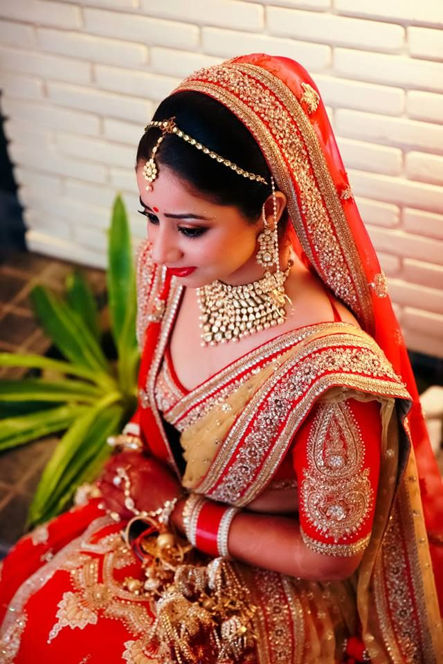 such a pretty bridal lengha.