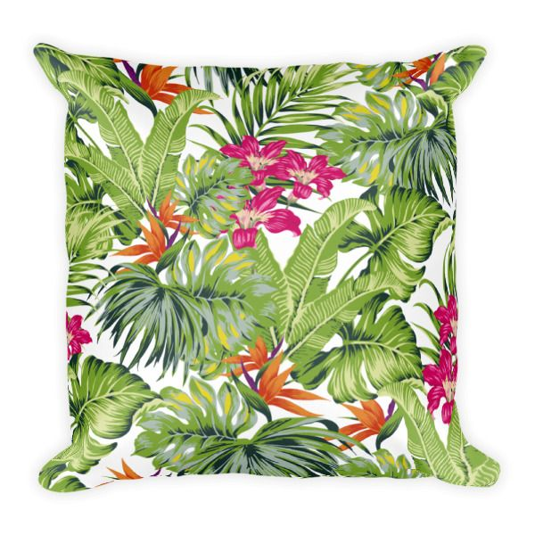 Square Pillow – Floral Garden – Green Throw Pillow     http://classicbeautydesigns.com/product/square-pillow-floral-garden-green-throw-pillow/