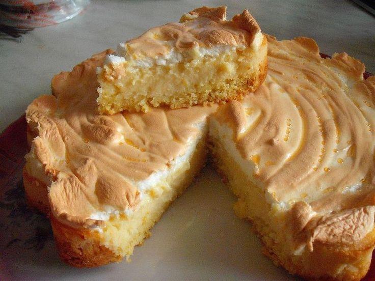 """""""Лимонный пирог с безе"""" - пошаговый рецепт с фото. Автор ..."""