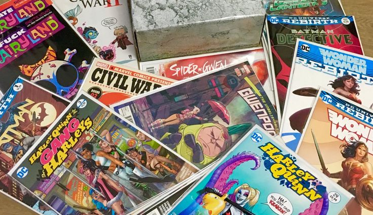 Loot Crate Dystopia, 3 Weeks of Comics & Crunchyroll Pass Giveaway