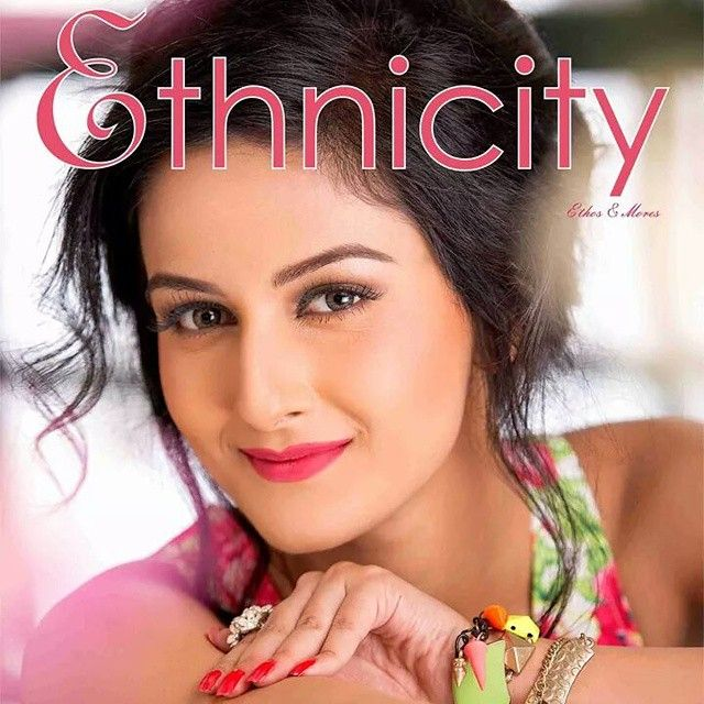 Model & Actress RUKHSAR YESMIN on Ethnicity ( magazine ) cover page of August 2014 issue