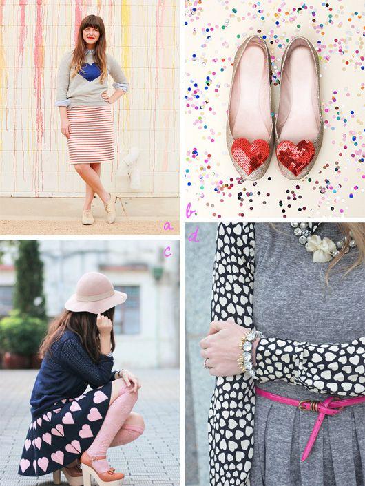 28 Creative Ideas For Valentine's Day http://decor8blog.com/2014/01/20/v-day-creative-ideas/