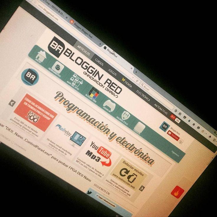 Visita nuestro blog y dale un paso más a lo que sabes.  blogginred.com  #blog #blogginstore #blogginred #website #colombia #arduino #raspberry #fpga #vhdl #hacking #tutorials #ibague #unibague  #electroniclab #gocode by blogginred