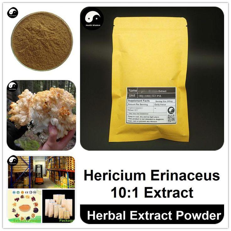Hericium erinaceus extract powder lions mane mushroom p