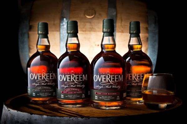 Overeem Whisky - Old Hobart Distillery. Photo by Nick Osborne Photography; Article by Roger Findlay for Think Tasmania.