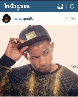 Marcus Paulk. Goodness he looks good. And yes his on IG check him out. Marcus Paulk...