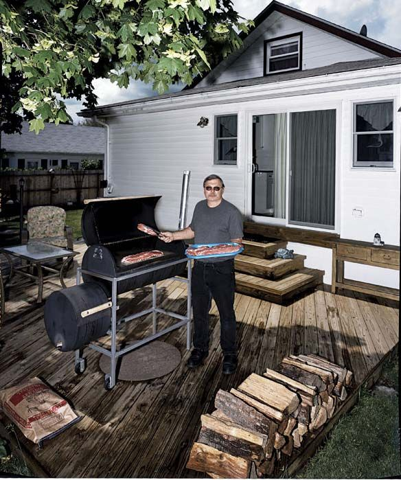 Real barbecue involves cooking tougher, fattier cuts of meat like pork butt and beef brisket over a duration of 4 to 6 hours or longer at temperatures near the boiling point of water. The payoff: t...