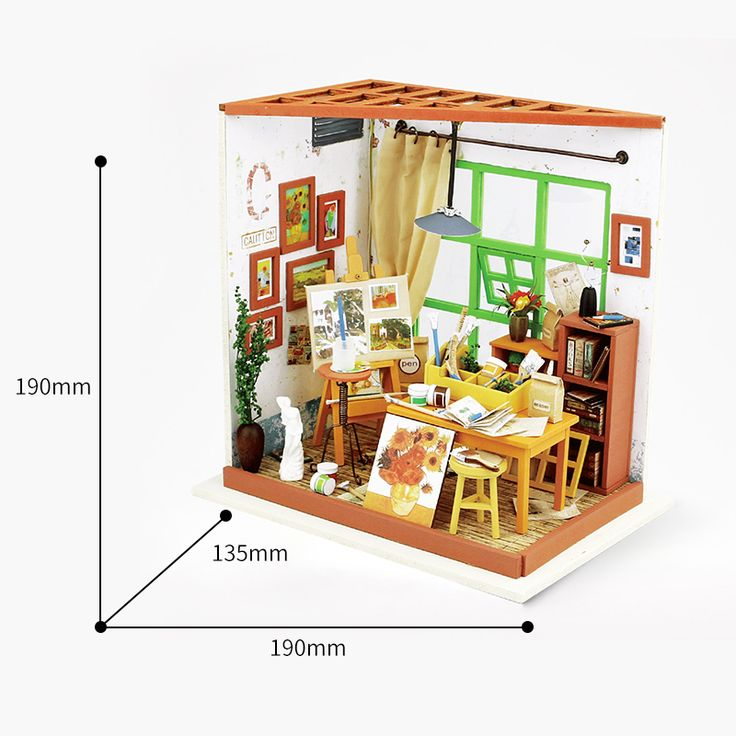 9 best DIY Miniature House Model images on Pinterest ...