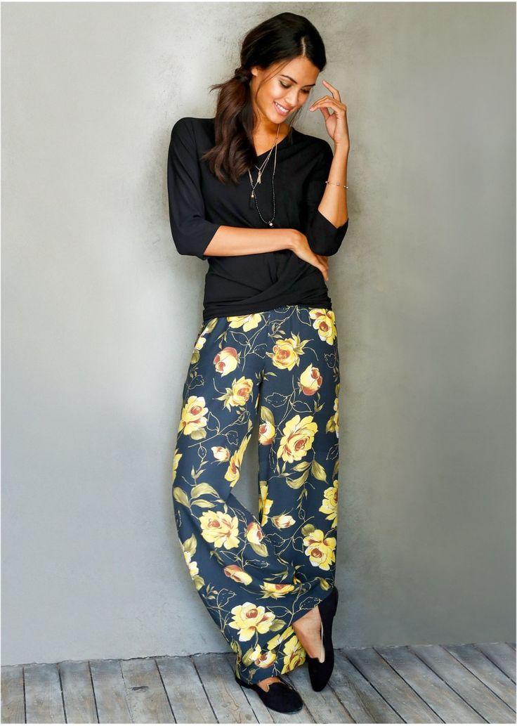Nohavice so širokým strihom Moderné • 27.99 € • bonprix