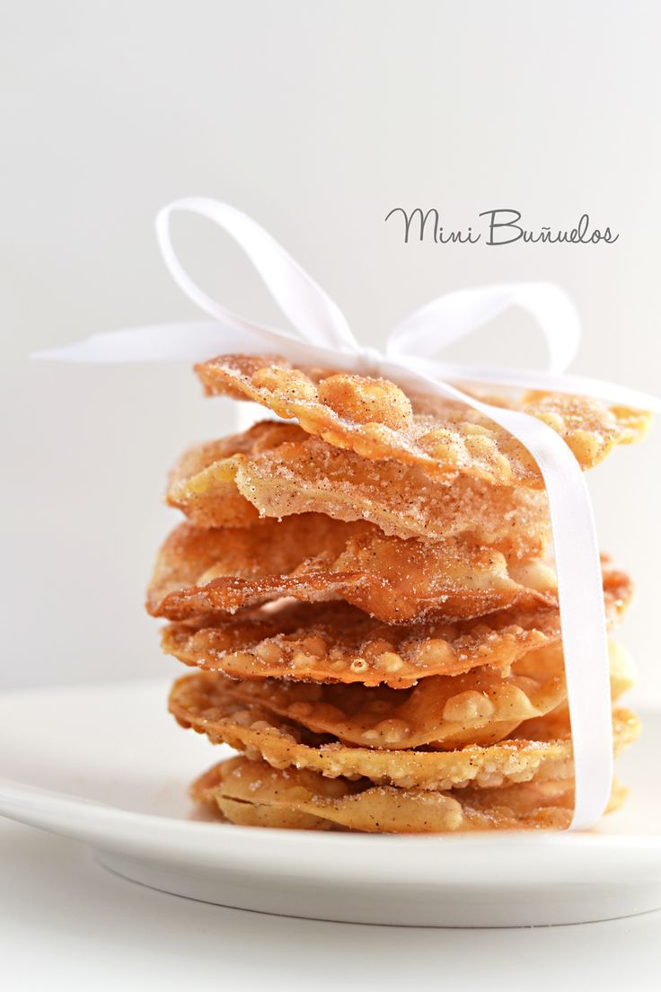 Blog post at Little Inspiration : Another of my favorite Mexican traditions is making buñuelos with my mom.