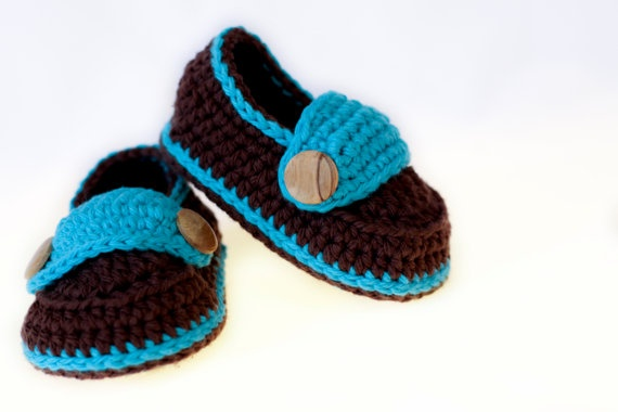 The Little Button Loafers  Newborn 3 Months 6 by PaperRaisins, $18.00