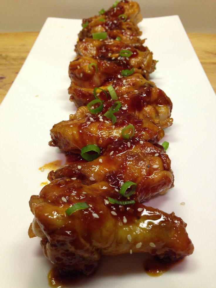 Wing Wednesday: Sweet and Spicy Asian Wings