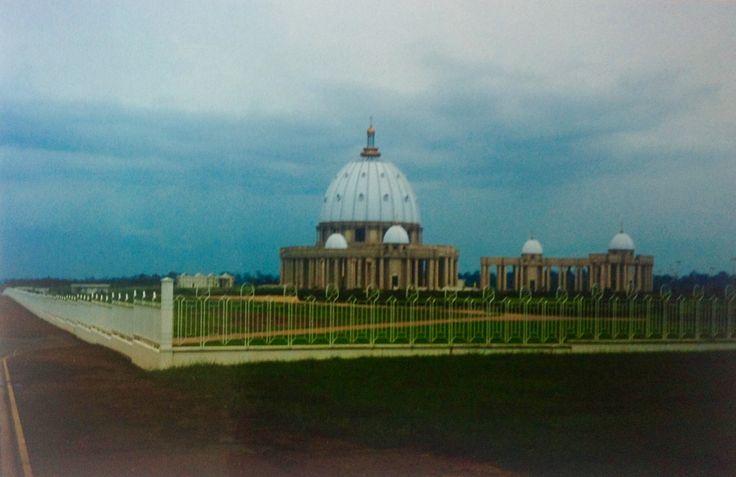 Basilica Notre-Dame de la Paix - Yamoussoukro - Costa do Marfim 1998
