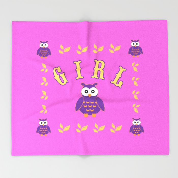 20% Off Throw Blankets Today! Buy Owl Baby Girl Throw Blanket by scardesign. #blanket #babyblanket #baby #throwblanket #newborn #funny #cute #owl #pink #sales #sale #discount #save #deals #kids #home #homedecor #cool #babysroom #awesome #gifts #giftideas #39 #giftsforhim #itsagirl #giftsforher #family #home #homedecor #blue #popular #popart #onlineshopping #shopping #babyshower #homegifts #mommy #society6 #babyshowergifts #homegifts #babyroom #babygirl