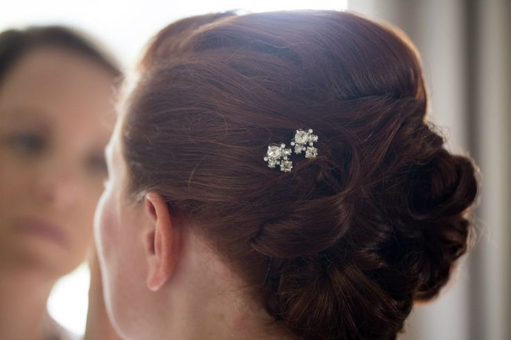 My wedding hair. Mimco pins. @michelledarley Maple Lane.