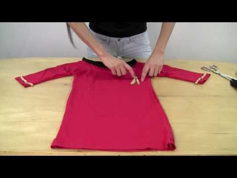 Make your own Star Trek Uhura costume! I did this a few years ago and it actually turned out decent, especially considering my lack of sewing skills!