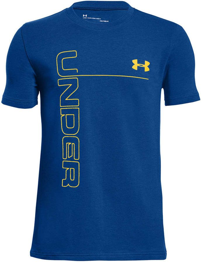5f63663c71 Under Armour Big Boys Graphic-Print T-Shirt