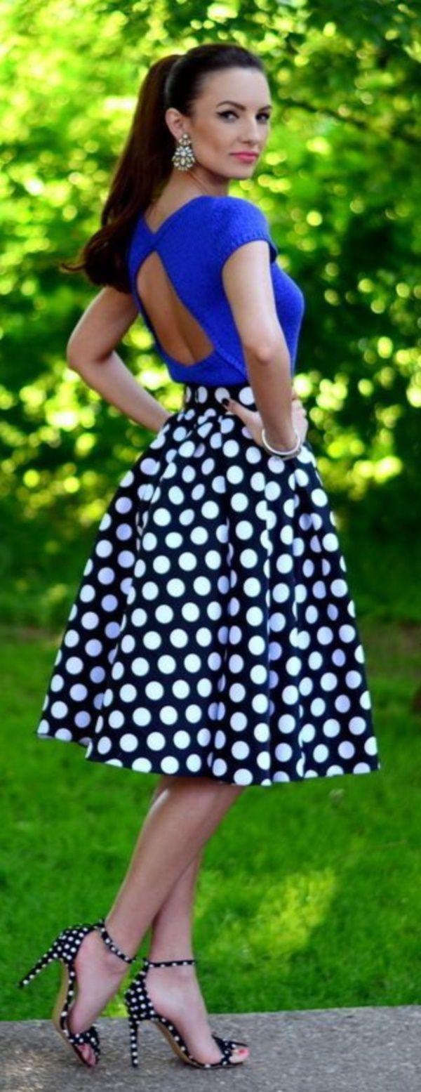 Lovely Looks For Skirt Addicts 0351