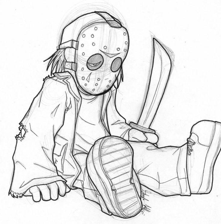 Baby Jason by AstroZerk.deviantart.com on @DeviantArt