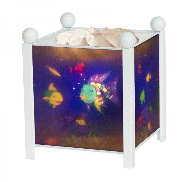 trousselier magische laterne nachtlicht lampe regenbogenfisch bonuspunkte sammeln auf. Black Bedroom Furniture Sets. Home Design Ideas