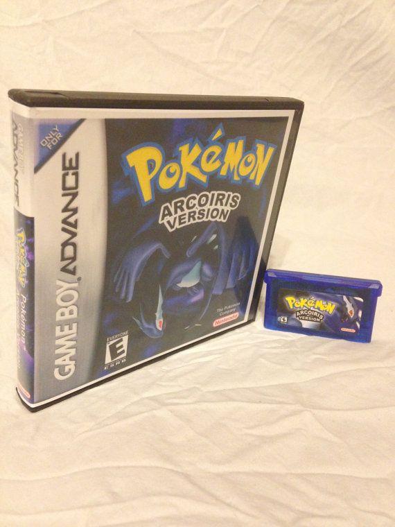 Pokemon Arcoiris Fan Made Custom Game Boy Advance Game. GameBoy GBA Saves!