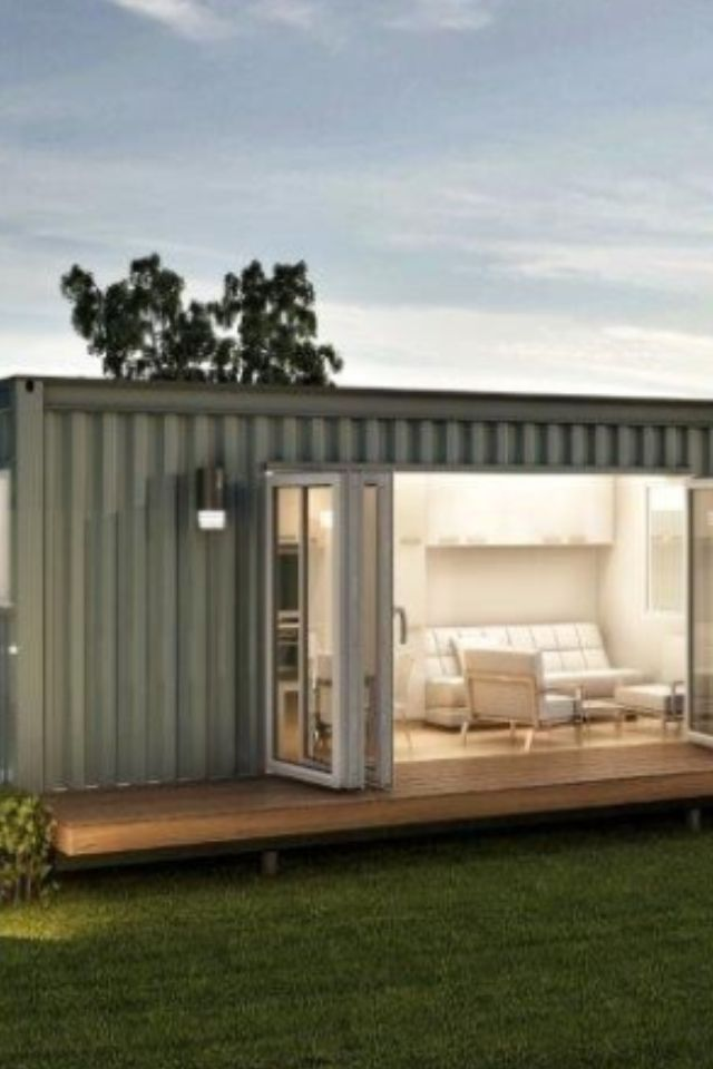 Small Shipping Container, guest house - http://dunway.us ...