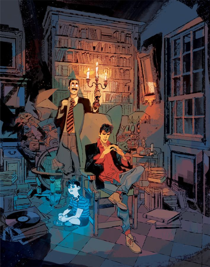 DYLAN DOG 363 Cover by GigiCave on DeviantArt