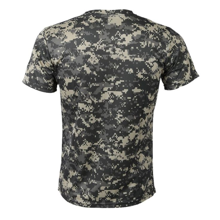 New Outdoor Hunting Camouflage T shirt Men Breathable Army Tactical Combat T Shirt Military Dry Sport. Click visit to buy #T-Shirts